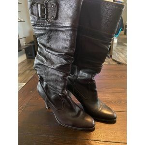 Matisse brown leather boots, size 9